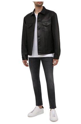 Мужские джинсы DIESEL темно-серого цвета, арт. 00SWJF/09A18 | Фото 2