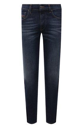 Мужские джинсы DIESEL темно-синего цвета, арт. 00SPW5/009HN | Фото 1