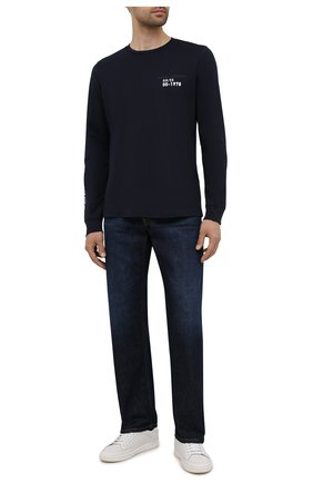 Мужские джинсы DIESEL темно-синего цвета, арт. 00S5WB/09A12 | Фото 2