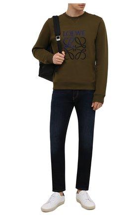 Мужские джинсы DIESEL темно-синего цвета, арт. 00SID9/009ZS | Фото 2