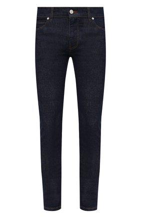 Мужские джинсы VERSACE темно-синего цвета, арт. 1000568/1A00909 | Фото 1