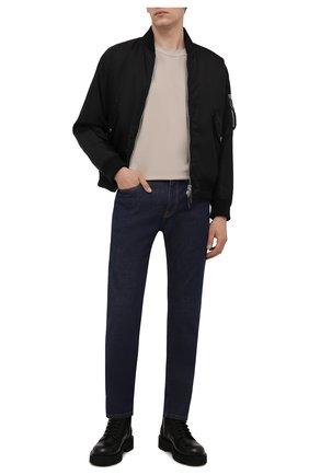 Мужские джинсы VERSACE темно-синего цвета, арт. A81832/1A00909 | Фото 2