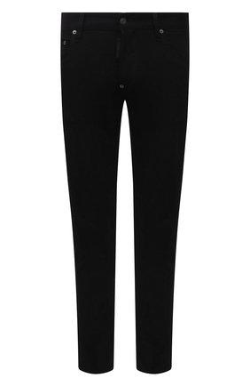 Мужские джинсы DSQUARED2 черного цвета, арт. S74LB0991/S30730   Фото 1