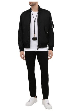 Мужские джинсы DSQUARED2 черного цвета, арт. S74LB0991/S30730   Фото 2