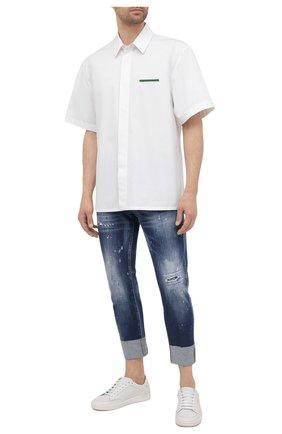 Мужские джинсы DSQUARED2 темно-синего цвета, арт. S74LB0968/S30663 | Фото 2