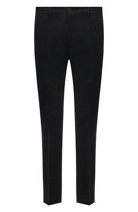 Мужские шерстяные брюки CANALI темно-серого цвета, арт. 91666/PR00825 | Фото 1