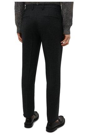 Мужские шерстяные брюки CANALI темно-серого цвета, арт. 91666/PR00825 | Фото 4