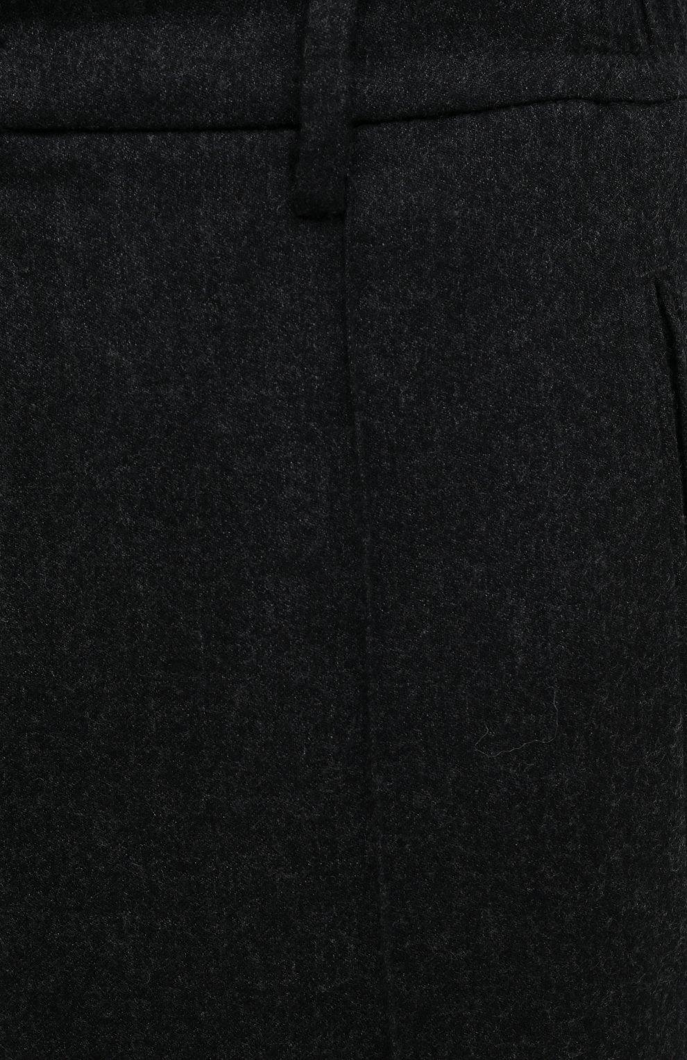 Мужские шерстяные брюки CANALI темно-серого цвета, арт. 91666/PR00825 | Фото 5