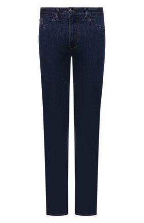 Мужские джинсы CANALI темно-синего цвета, арт. 91700/PD01033 | Фото 1
