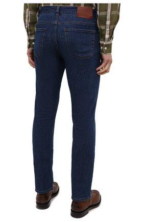 Мужские джинсы CANALI темно-синего цвета, арт. 91700/PD01033 | Фото 4