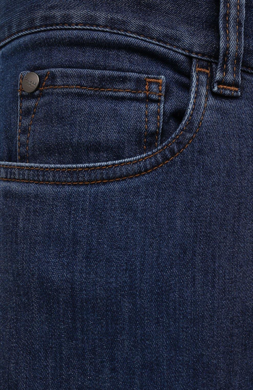Мужские джинсы CANALI темно-синего цвета, арт. 91700/PD01033 | Фото 5