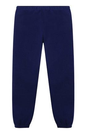 Детские хлопковые джоггеры POLO RALPH LAUREN синего цвета, арт. 313837721 | Фото 2