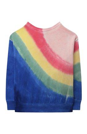 Детский хлопковый свитшот POLO RALPH LAUREN разноцветного цвета, арт. 313841392 | Фото 2