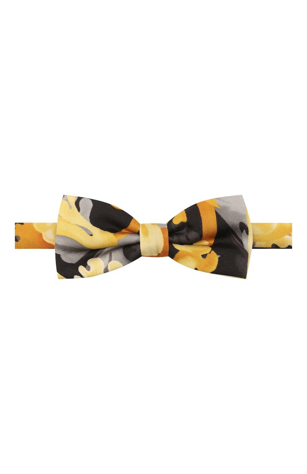 Детский галстук-бабочка VERSACE разноцветного цвета, арт. 1000395/1A01515 | Фото 1
