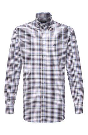 Мужская хлопковая рубашка PAUL&SHARK разноцветного цвета, арт. 11313070/C00 | Фото 1