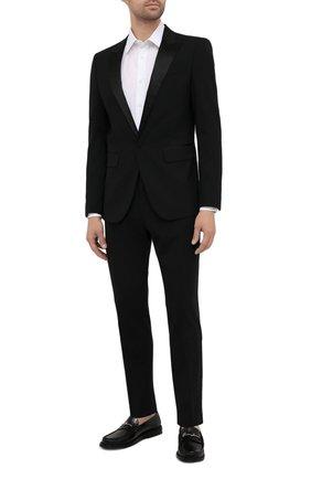 Мужской шерстяной пиджак DSQUARED2 черного цвета, арт. S74BN1087/S40320 | Фото 2