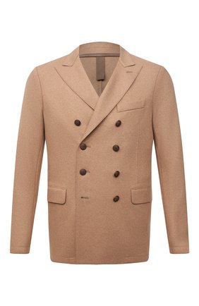 Мужской шерстяной пиджак ELEVENTY бежевого цвета, арт. D70GIAB08 JAC24018 | Фото 1