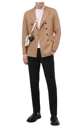 Мужской шерстяной пиджак ELEVENTY бежевого цвета, арт. D70GIAB08 JAC24018 | Фото 2