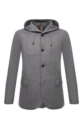 Мужской шерстяной пиджак ELEVENTY темно-серого цвета, арт. D70GIAD05 JAC24018 | Фото 1