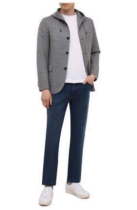 Мужской шерстяной пиджак ELEVENTY темно-серого цвета, арт. D70GIAD05 JAC24018 | Фото 2