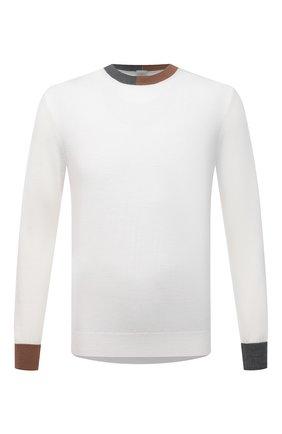 Мужской шерстяной джемпер ELEVENTY белого цвета, арт. D71MAGD02 MAG0D001 | Фото 1