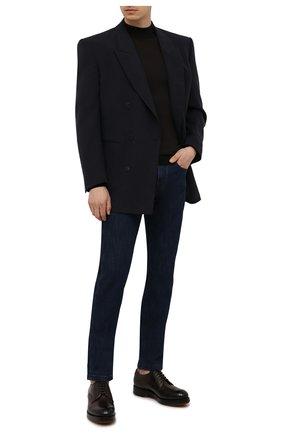 Мужской шерстяная водолазка JOHN SMEDLEY темно-коричневого цвета, арт. HARC0URT | Фото 2