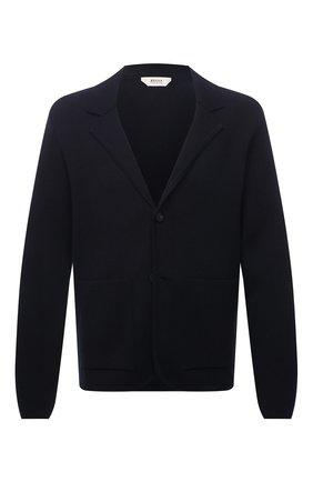 Мужской пиджак Z ZEGNA темно-синего цвета, арт. VYB65/ZZ164 | Фото 1