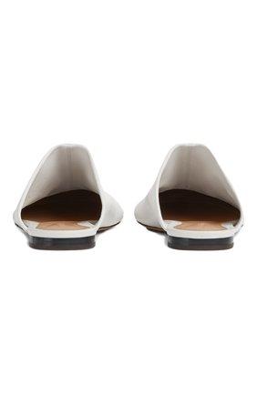Женского домашние туфли dot BOTTEGA VENETA белого цвета, арт. 667185/VBP40 | Фото 2