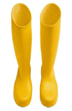 Женские резиновые сапоги bv puddle BOTTEGA VENETA желтого цвета, арт. 667222/V00P0 | Фото 2