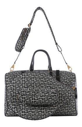 Женская сумка b-army BALMAIN черно-белого цвета, арт. WM1EC155/TJGS | Фото 1