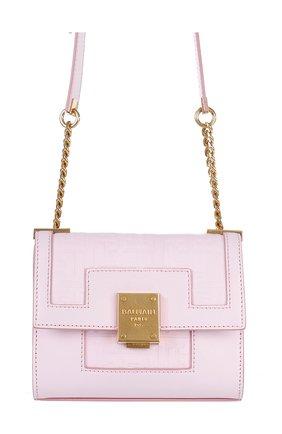 Женская сумка 1945 BALMAIN розового цвета, арт. WN1BJ651/LESP | Фото 1