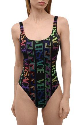 Женский слитный купальник VERSACE разноцветного цвета, арт. 1001408/1A01001 | Фото 2