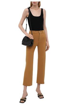 Женские джинсы LORO PIANA желтого цвета, арт. FAL7315 | Фото 2