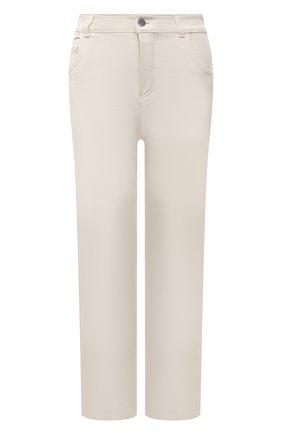 Женские джинсы LORO PIANA кремвого цвета, арт. FAL7315 | Фото 1