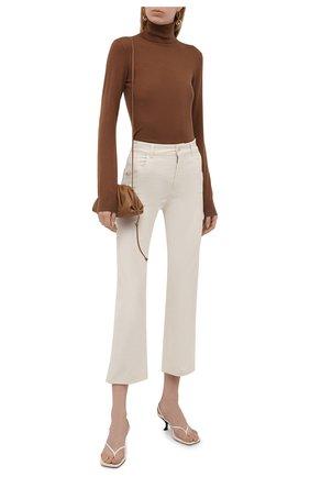 Женские джинсы LORO PIANA кремвого цвета, арт. FAL7315 | Фото 2