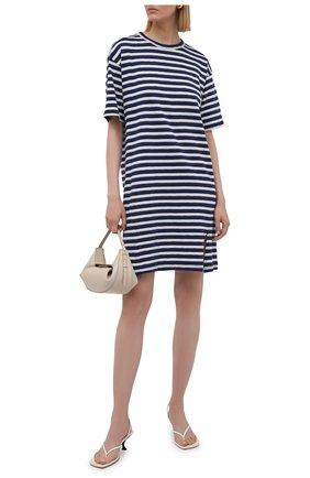 Женское хлопковое платье RAG&BONE разноцветного цвета, арт. WCC21P3040CH40 | Фото 2