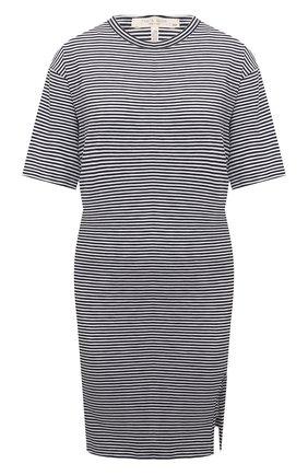 Женское хлопковое платье RAG&BONE черно-белого цвета, арт. WCC21P3040CH40 | Фото 1