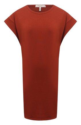 Женское хлопковое платье RAG&BONE красного цвета, арт. WCC21P3026PP26 | Фото 1