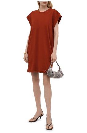 Женское хлопковое платье RAG&BONE красного цвета, арт. WCC21P3026PP26 | Фото 2