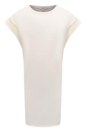 Женское хлопковое платье RAG&BONE бежевого цвета, арт. WCC21P3026PP26 | Фото 1