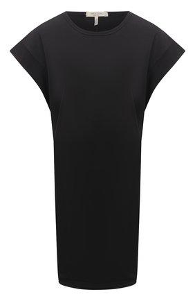 Женское хлопковое платье RAG&BONE черного цвета, арт. WCC21P3026PP26 | Фото 1