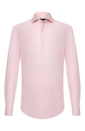 Мужская сорочка BOSS розового цвета, арт. 50451235 | Фото 1