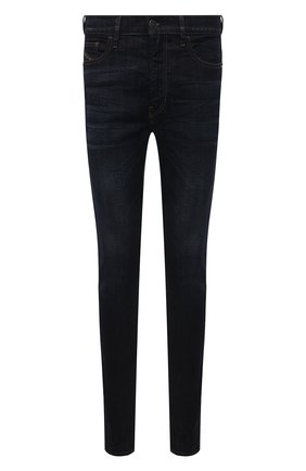 Мужские джинсы DIESEL темно-синего цвета, арт. A00712/069WF | Фото 1