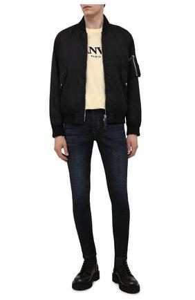 Мужские джинсы DIESEL темно-синего цвета, арт. A00712/069WF | Фото 2