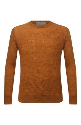 Мужской шерстяной джемпер CANALI светло-коричневого цвета, арт. C0821/MK01260 | Фото 1