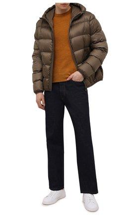 Мужской шерстяной джемпер CANALI светло-коричневого цвета, арт. C0821/MK01260 | Фото 2