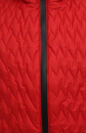 Мужской утепленный жилет CANALI красного цвета, арт. 040655/SY01617 | Фото 5