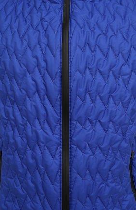 Мужской утепленный жилет CANALI синего цвета, арт. 040655/SY01617   Фото 5