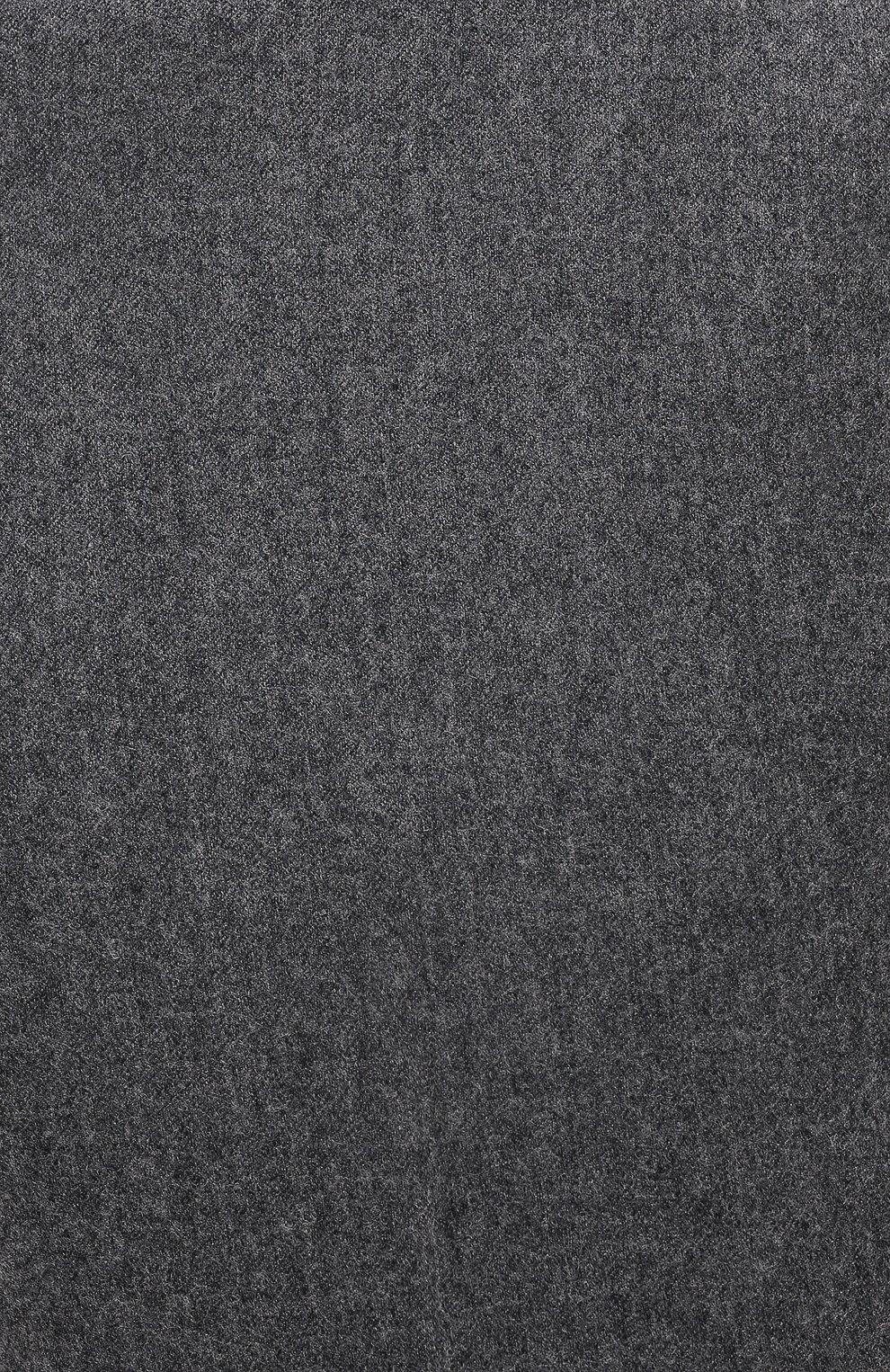 Мужские шерстяные брюки ERMENEGILDO ZEGNA серого цвета, арт. E30F24/75TB12   Фото 5