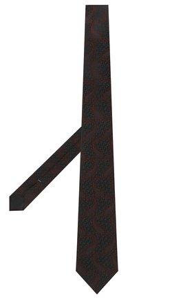 Мужской шелковый галстук ERMENEGILDO ZEGNA темно-синего цвета, арт. Z2D35T/1UM | Фото 2 (Материал: Текстиль; Принт: С принтом)